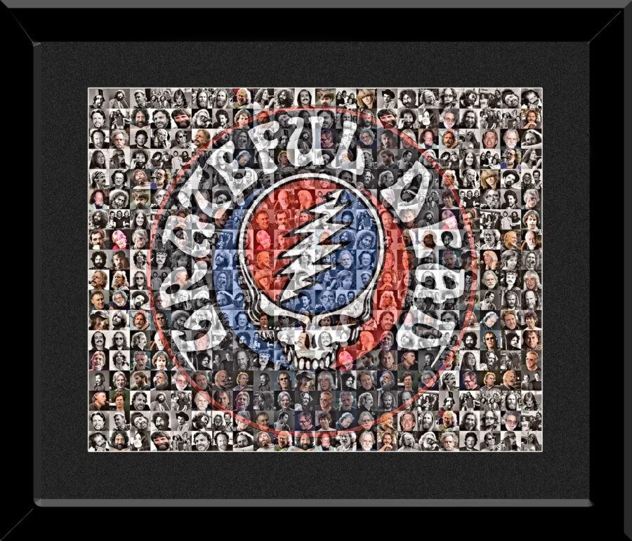 The Mosaic Guy -Grateful Dead Framed